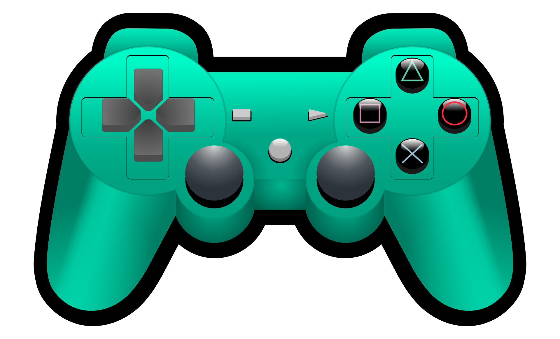ps4 controller transparent png pictures free icons and - 900×900